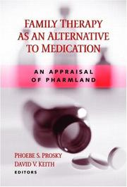 Cover of: Family Therapy as an Alternative to Medication