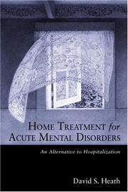 Cover of: Home Treatment for Acute Mental Disorders