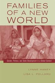 Cover of: Families of a New World