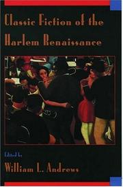 Cover of: Classic fiction of the Harlem Renaissance