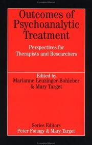 Cover of: Outcomes of Psychoanalytic Treatment