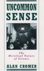 Cover of: Uncommon sense