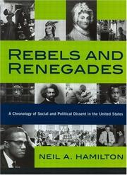 Cover of: Rebels and renegades