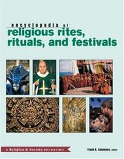 Cover of: Encyclopedia of Religious Rites, Rituals, and Festivals | Salamone Frank