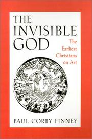 Cover of: The invisible God | Paul Corby Finney