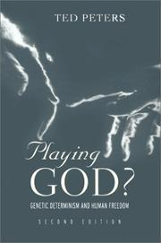 Cover of: Playing God?