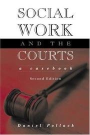 Cover of: Social work and the courts