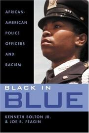 Cover of: Black in Blue | Jr.,Ken Bolton