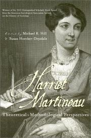 Cover of: Harriet Martineau
