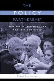Cover of: The Policy Partnership