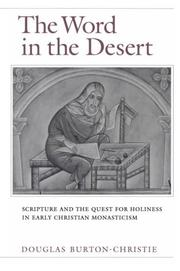 Cover of: The Word in the Desert