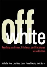 Cover of: Off white | Michelle Fine