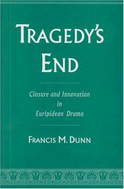 Cover of: Tragedy