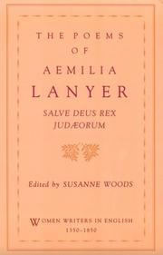 Cover of: poems of Aemilia Lanyer | Aemilia Lanyer
