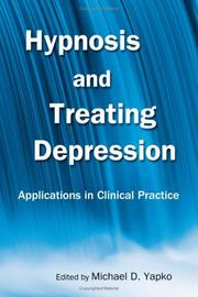 Cover of: Hypnosis and treating depression |