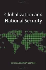 Cover of: Globalization and National Security
