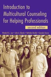 Cover of: Introduction to Multicultural Counseling for Helping Professionals