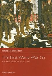 Cover of: The First World War, Vol. 2