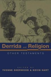 Cover of: Derrida and religion |