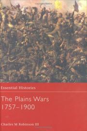 Cover of: The Plains Wars, 1757-1900