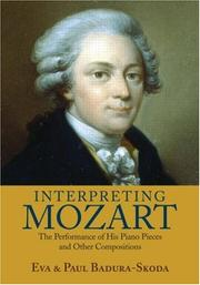 Cover of: Interpreting Mozart