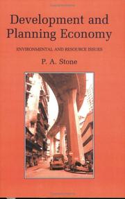 Cover of: Development and Planning Economy | P.A. Stone