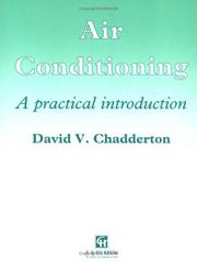 Cover of: Air conditioning | David V. Chadderton
