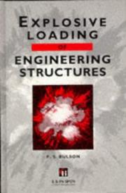 Cover of: Explosive loading of engineering structures