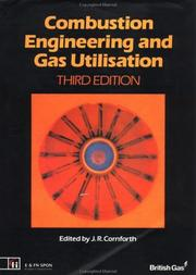 Cover of: Combustion engineering and gas utilization |