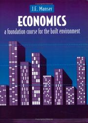 Cover of: Economics | J. E. Manser