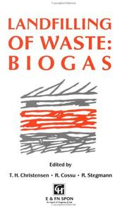 Cover of: Landfilling of waste |