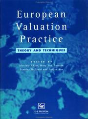 Cover of: European Valuation Practice | A. Adair