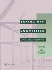 Cover of: Taking Off Quantities