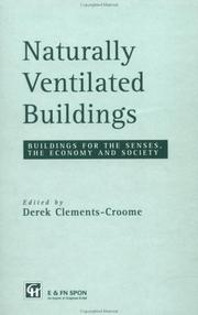 Cover of: Naturally Ventilated Buildings