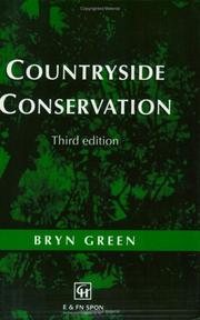 Cover of: Countryside conservation