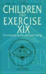Cover of: Children and Exercise XIX | N. Armstrong