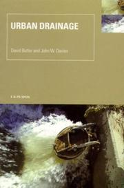 Cover of: Urban Drainage | David Butler