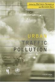 Cover of: Urban Traffic Pollution | Dietric Schwela