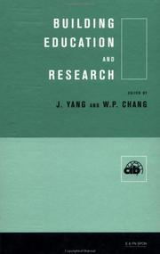 Cover of: Building Education and Research | J. Yang