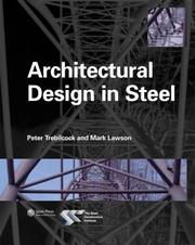 Cover of: Architectural Design in Steel