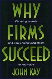 Cover of: Why firms succeed