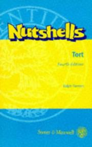 Cover of: Tort in a nutshell
