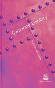 Corporate liability by Neil Hawke