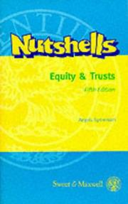 Cover of: Equity and Trusts in a Nutshell