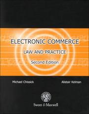 Cover of: Electronic commerce law and practice