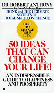 Cover of: 50 Ideas That Can Change Your Life