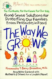 Cover of: The way we grow | Anne Witte Garland