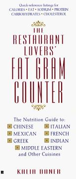 Cover of: The restaurant lovers' fat gram counter