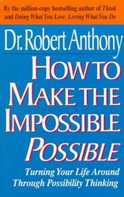 Cover of: How to make the impossible possible