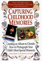 Cover of: Capturing childhood memories